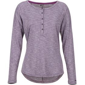 Marmot Jayne Langærmet T-shirt Damer violet